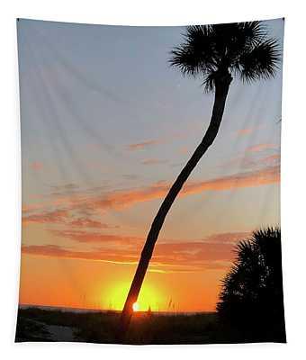Sunset In Venice Tapestry