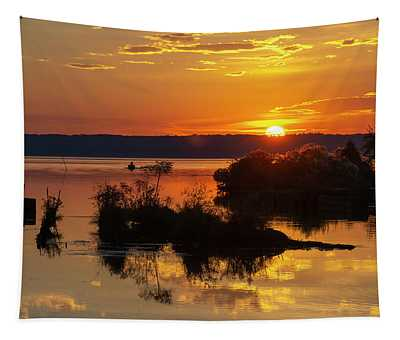 Sunset, Mallows Bay Tapestry