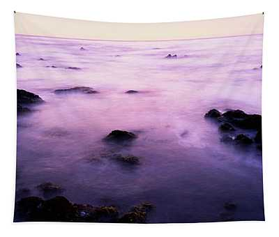 Sunset Over The Sea, 17-mile Drive Tapestry