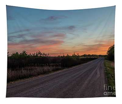 Sunset Road Tapestry