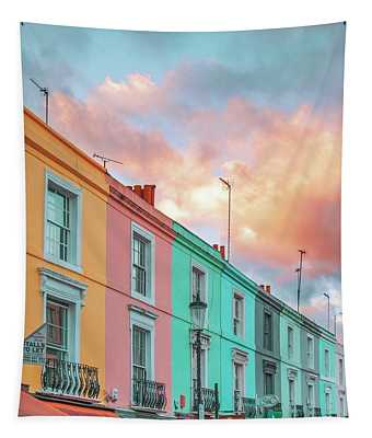 Sunset Street Tapestry