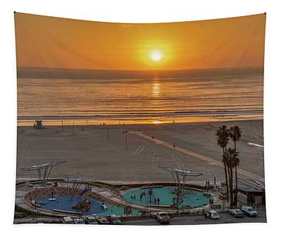 Sunset - The Day Before Christmas Tapestry