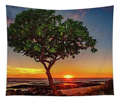 Sunset Tree Tapestry