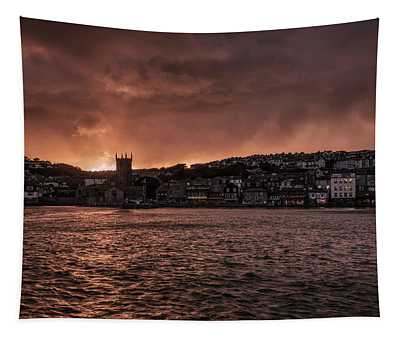 Sunset Harbour Tapestry