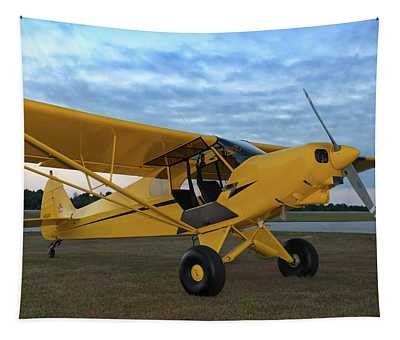 Super Cub At Daybreak Tapestry