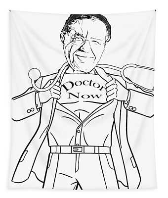 Super Dr. Now Tapestry