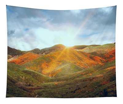 Superbloom Sunrise Tapestry