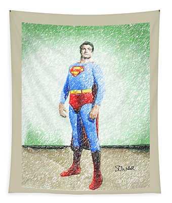 Superman Tapestry