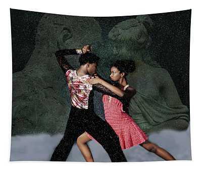 Supernal Salsa Tapestry