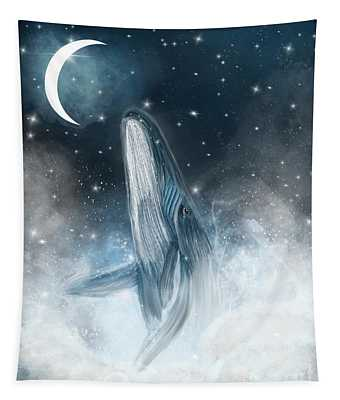 Surfing The Stars Tapestry