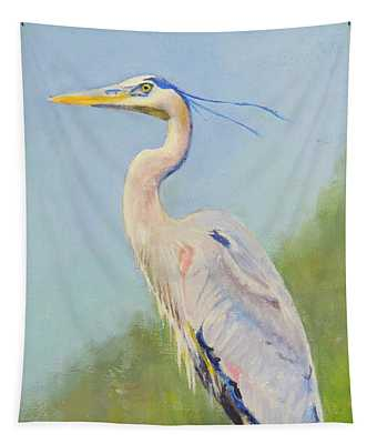 Surveyor - Great Blue Heron Tapestry