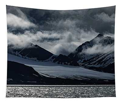 Svalbard Mountains Tapestry
