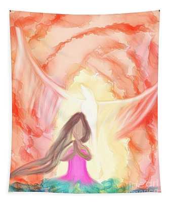 Sweet Hour Of Prayer Tapestry