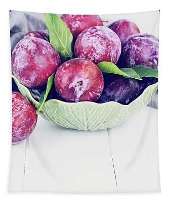 Sweet Plums Tapestry