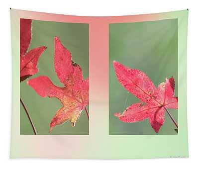 Sweetgum Leaves Tapestry