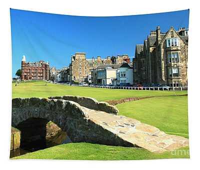 Swilcan Bridge - St Andrews Scotland  Tapestry