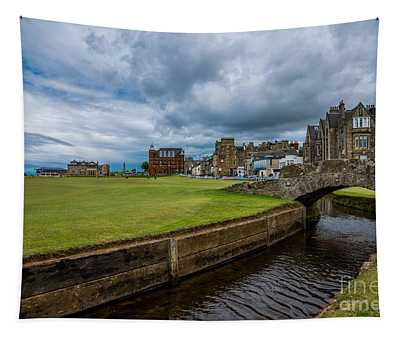 Swilcan Burn - The Old Course  Tapestry
