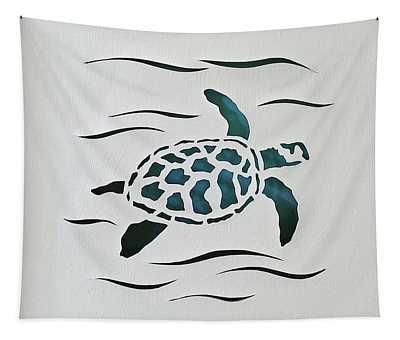 Swimmer Tapestry