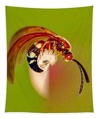 Swirly Wasp Tapestry