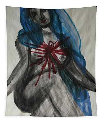 Swollen Heart Tapestry
