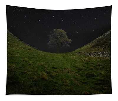 Sycamore Gap Stars Tapestry