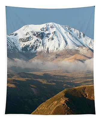 Taapaca Volcano Putre Chile Tapestry