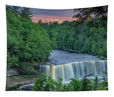 Tahquamenon Falls Sunset. Tapestry