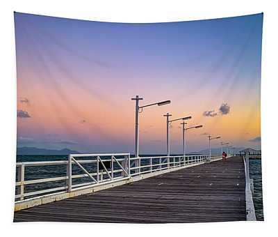 Take Me Away To Picnic Bay Tapestry