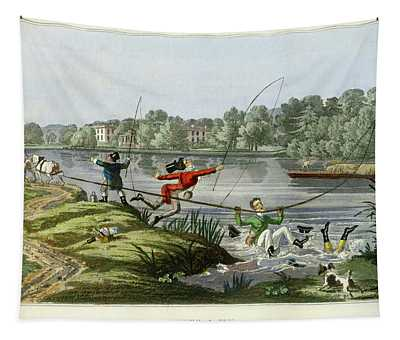 Taking A Fly Tapestry