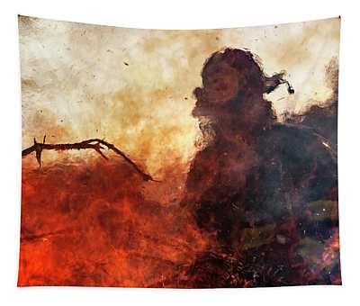 Tame The Flames Tapestry