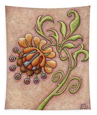 Tapestry Flower 10 Tapestry