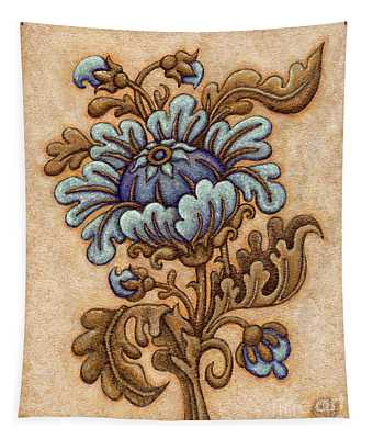 Tapestry Flower 5 Tapestry