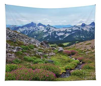 Tatoosh Mountain Range Tapestry