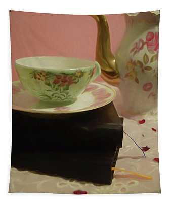 Tea Party Time Tapestry
