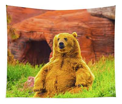 Teddy Bear Tapestry