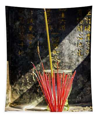 Temple Incense Tapestry