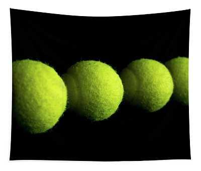 Tennis Balls Tapestry