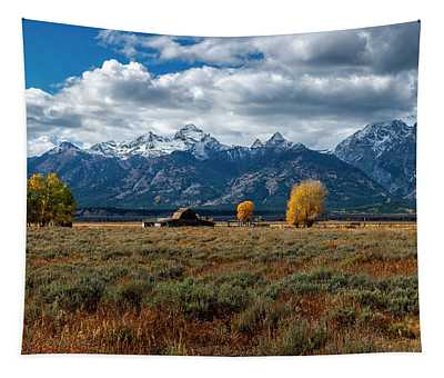 Tetons And Mormon Row Tapestry