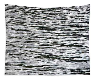 Texture Of The Water Surface Of The River Tapestry