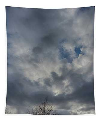 Tapestry featuring the photograph Thanksgiving Sky 2018 by Matthew Nelson