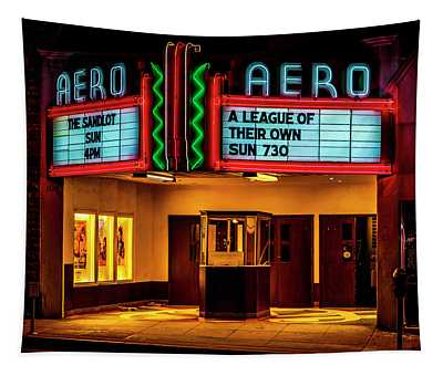 The Aero Theater - A League Of Their Own Tapestry
