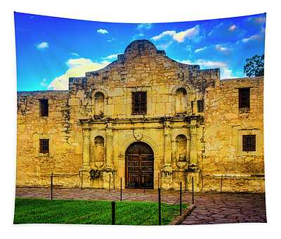 The Alamo Mission Tapestry