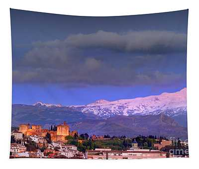 The Alhambra, Albaicin. Spring Time Tapestry
