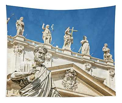 The Apostle Peter Vatican City Tapestry