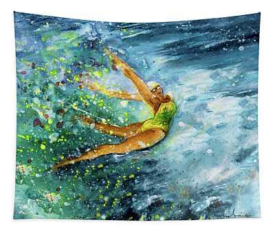 The Art Of Water Dancing 01 Tapestry