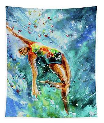 The Art Of Water Dancing 02 Tapestry