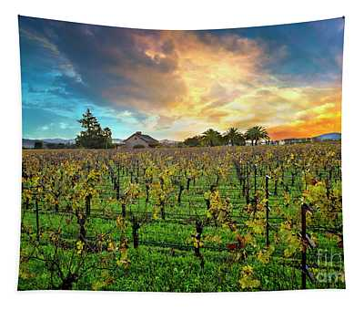 The Beauty Of Napa Tapestry