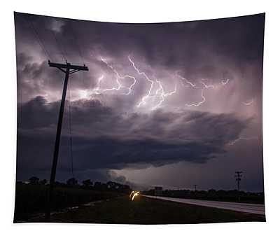 The Best Supercell Of The Summer 040 Tapestry