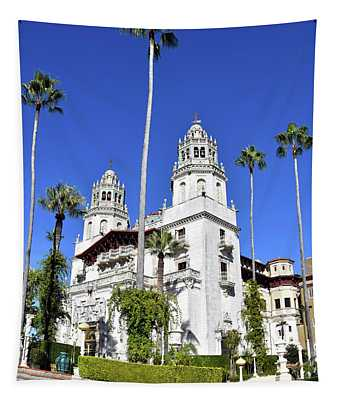 The Big House At Hearst Castle Tapestry