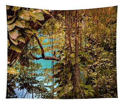 The Blue Lagoon Tapestry